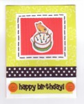 Card - Happy Birthday Cake