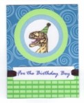 Card - Happy Birthday / Dinosaur