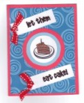 Card - Happy Birthday / Eat Cake