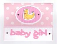 Card - Duck / Pink