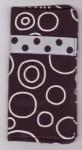 Sunglass Case - Black Circles