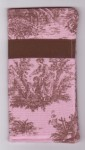 Sunglass Case - Pink Toile