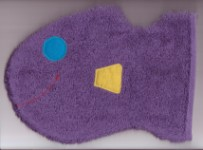 Wash Mitt - Purple