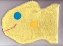 Wash Mitt - Yellow